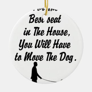 Ornamento De Cerâmica para melhor Seat na casa, citações da vida
