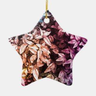 Ornamento De Cerâmica Para o amor da doação - multi floral