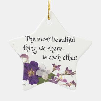 Ornamento De Cerâmica Para um querido