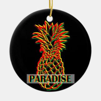 Ornamento De Cerâmica Paraíso do abacaxi