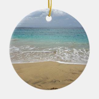 Ornamento De Cerâmica paraíso tropical