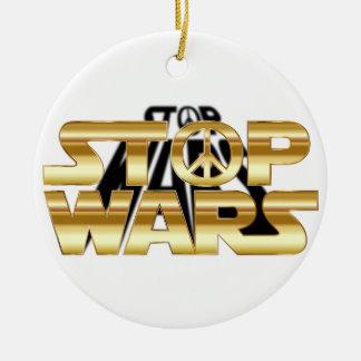Ornamento De Cerâmica Pare guerras