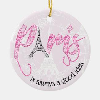 Ornamento De Cerâmica Paris é sempre uma boa ideia