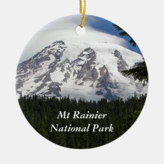 Ornamento De Cerâmica Parque nacional de Monte Rainier