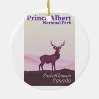 Ornamento De Cerâmica Parque nacional de príncipe Albert, Saskatchewan,