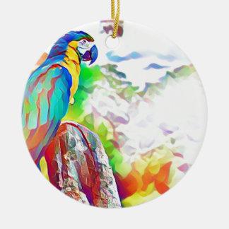 Ornamento De Cerâmica Pássaro de Amazon
