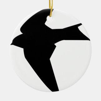 Ornamento De Cerâmica Pássaro de vôo