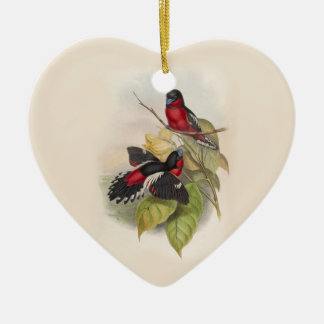 Ornamento De Cerâmica Pássaros 002 do vintage