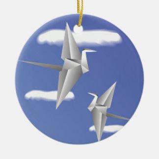 Ornamento De Cerâmica pássaros 78Paper _rasterized