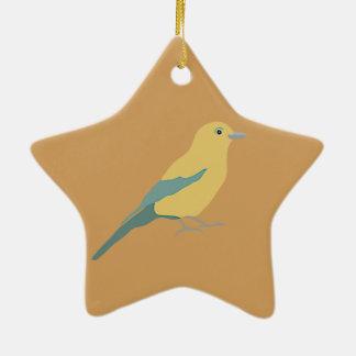 Ornamento De Cerâmica Pássaros do hipster