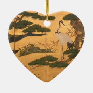Ornamento De Cerâmica Pássaros e flores das quatro estações