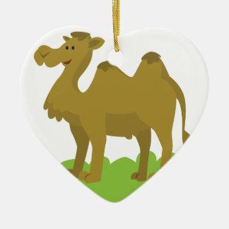 Ornamento De Cerâmica passeio do camelo alto