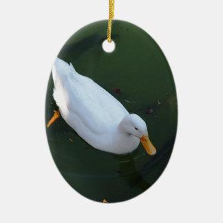 Ornamento De Cerâmica Pato branco