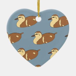 Ornamento De Cerâmica Patos da natação