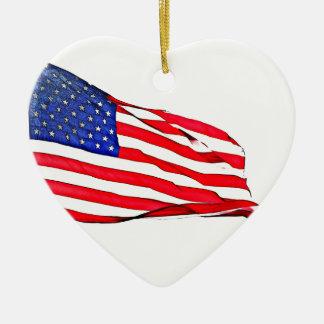 Ornamento De Cerâmica Patriotismo