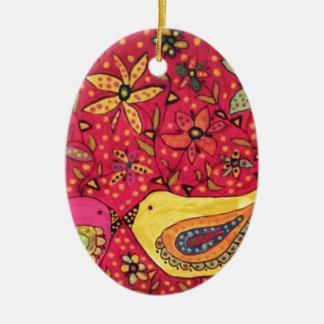Ornamento De Cerâmica Paz