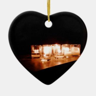 Ornamento De Cerâmica Paz em uma noite tormentoso