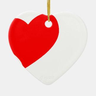 Ornamento De Cerâmica paz love11