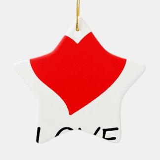 Ornamento De Cerâmica paz love12