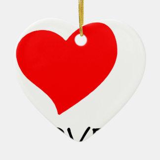 Ornamento De Cerâmica paz love16
