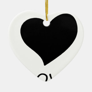 Ornamento De Cerâmica paz love18