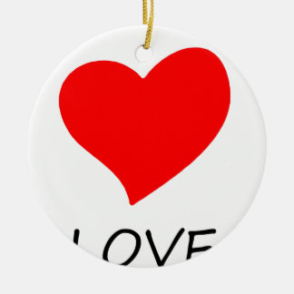 Ornamento De Cerâmica paz love20