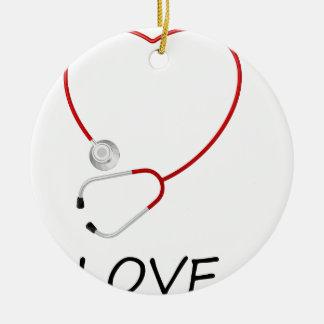 Ornamento De Cerâmica paz love44