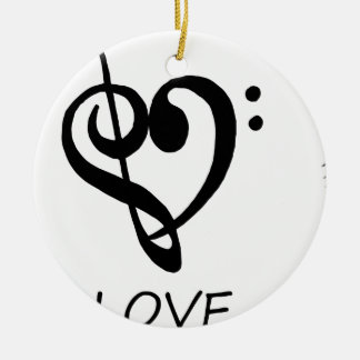 Ornamento De Cerâmica paz love46
