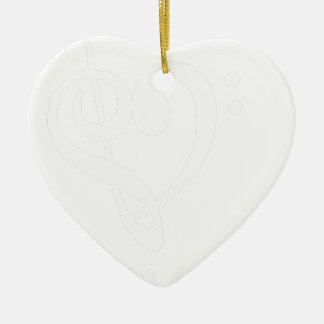 Ornamento De Cerâmica paz love47