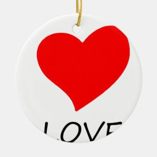 Ornamento De Cerâmica paz love5
