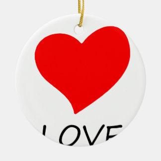 Ornamento De Cerâmica paz love7