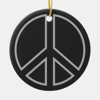 Ornamento De Cerâmica peace17