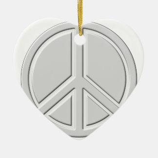 Ornamento De Cerâmica peace18
