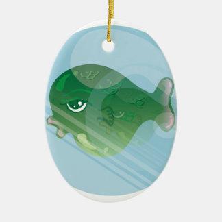 Ornamento De Cerâmica Peixes da bolha