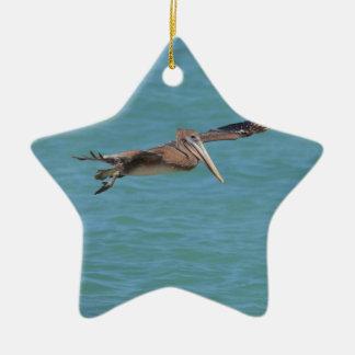 Ornamento De Cerâmica Pelicano de deslizamento