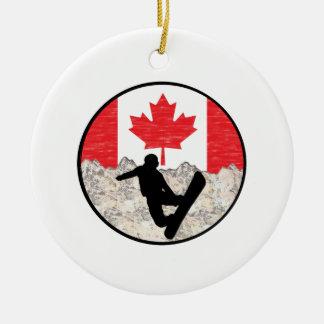 Ornamento De Cerâmica Pensionistas canadenses