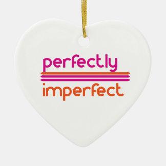 Ornamento De Cerâmica Perfeitamente imperfeito