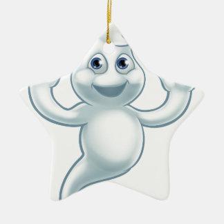 Ornamento De Cerâmica Personagem de desenho animado bonito do fantasma