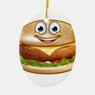 Ornamento De Cerâmica Personagem de desenho animado da mascote da comida