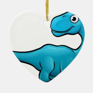 Ornamento De Cerâmica Personagem de desenho animado do dinossauro do