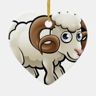 Ornamento De Cerâmica Personagem de desenho animado dos animais de