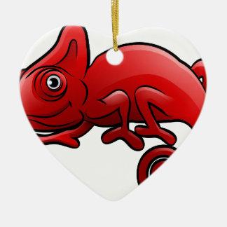 Ornamento De Cerâmica Personagem de desenho animado dos animais do