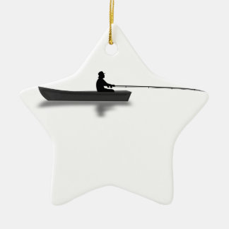 Ornamento De Cerâmica Pesca