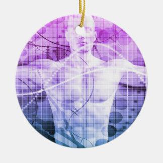 Ornamento De Cerâmica Pesquisa da ciência como um conceito para a
