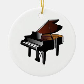 Ornamento De Cerâmica Piano