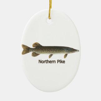 Ornamento De Cerâmica Pike do norte (intitulado)