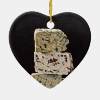Ornamento De Cerâmica Pilha do queijo de Stilton