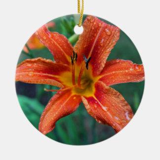 Ornamento De Cerâmica Pingos de chuva do verão