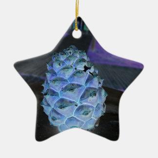 Ornamento De Cerâmica pinho do Natal