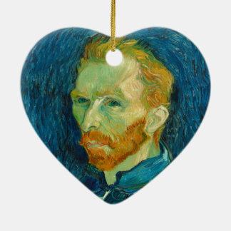 Ornamento De Cerâmica Pintura 1889 do retrato de auto de Vincent van